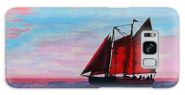 Red Sails On The Chesapeake Galaxy Case