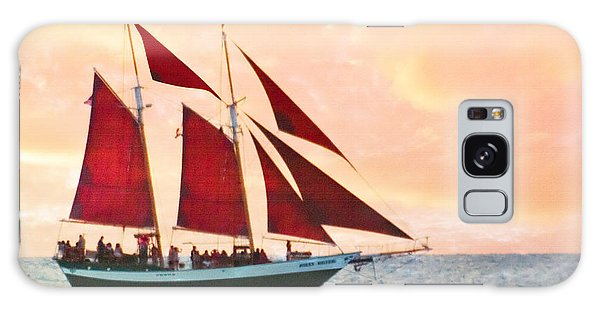 Red Sails Sunset Galaxy Case