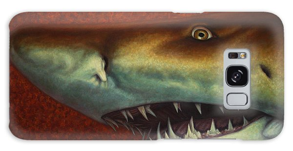Sharks Galaxy Case - Red Sea Shark by James W Johnson