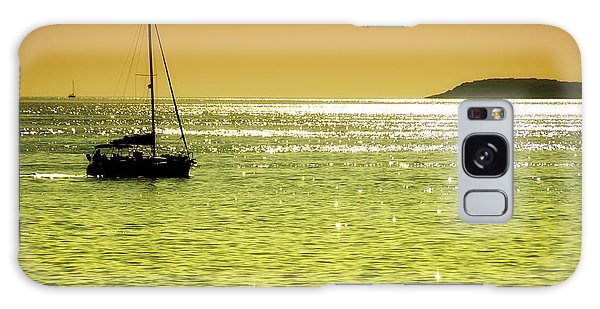 Motor Yacht Galaxy Case - Red Sea Sunset by Sinisa Botas