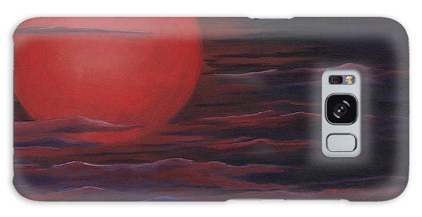 Red Sky A Night Galaxy Case by Michelle Joseph-Long