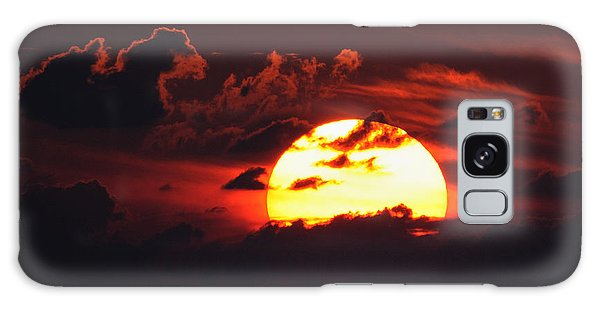 Red Sky At Night Galaxy Case