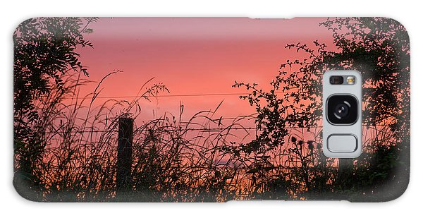 Red Sky At Night Galaxy Case by Liz  Alderdice
