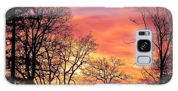 Red Sky At Night Sailor's Delight Galaxy Case