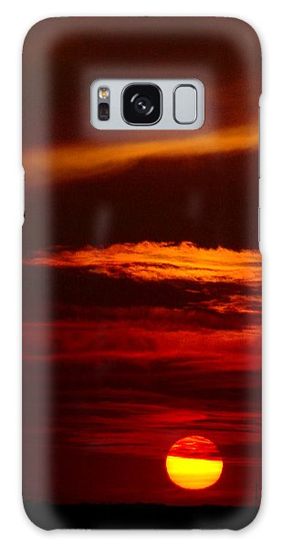 Red Sky At Night Vertical Galaxy Case