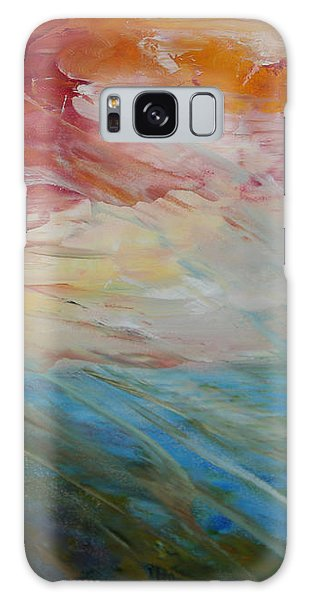 Red Sky Galaxy Case by Sandra Nardone