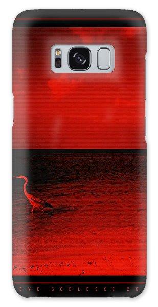 Red Sky Galaxy Case