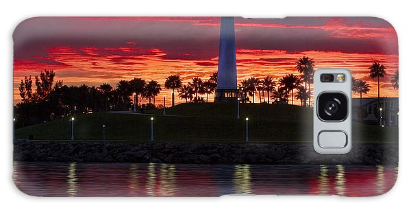 Red Skys At Night Denise Dube Photography Galaxy Case
