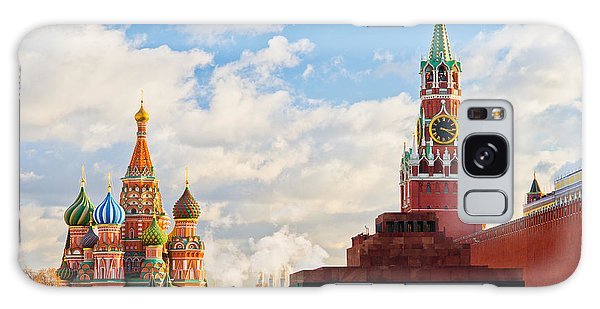 Red Square Of Moscow - Featured 3 Galaxy Case