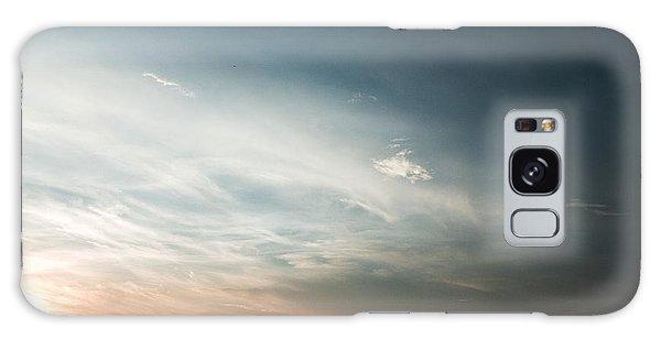 Red Sunset Galaxy Case by Rajiv Chopra