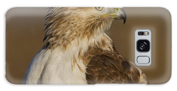Red-tailed Hawk Portrait Galaxy Case