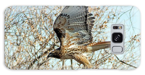 Red Tailed Hawk Sequence #3 Galaxy Case by Stephen  Johnson