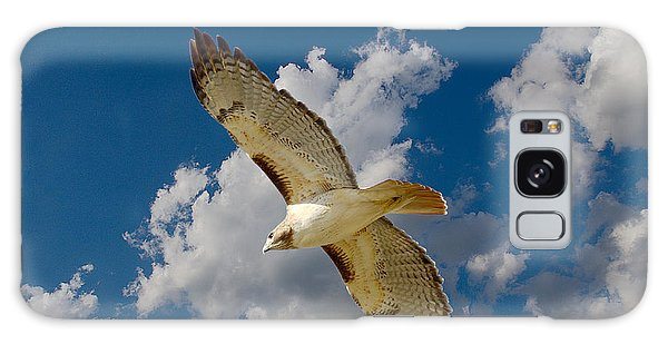 Red-tailed Hawk Soaring Series 5 Galaxy Case