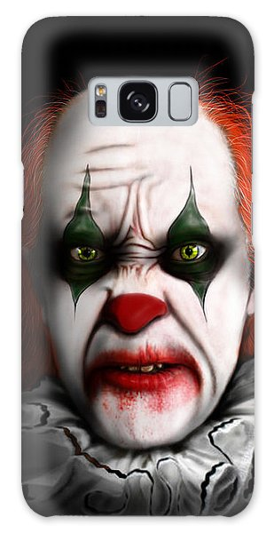 Red The Clown Galaxy Case by Jeremy Martinson