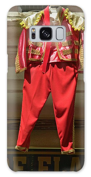 Dress Form Galaxy Case - Red Toreador Bull Fighting Outfit by Panoramic Images