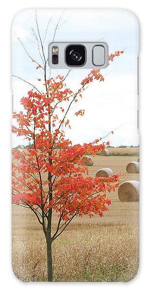 Red Tree Galaxy Case