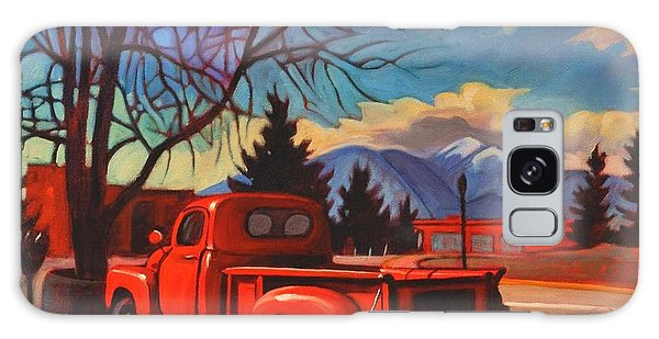 Red Truck Galaxy Case