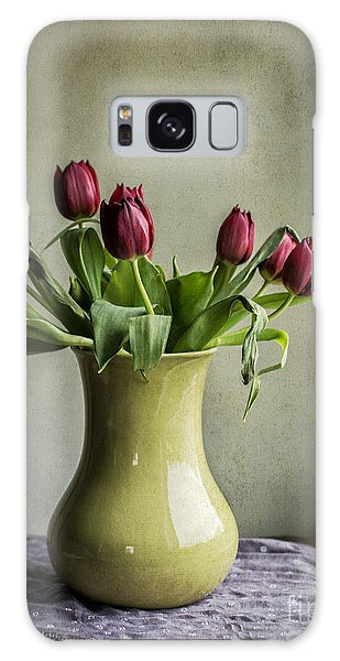 Artful Galaxy Case - Red Tulip Love by Terry Rowe