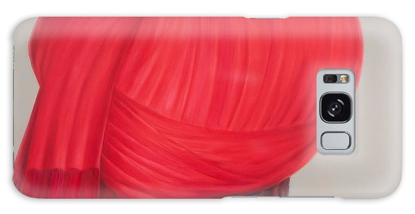 Turban Galaxy Case - Red Turban, 2012 Acrylic On Canvas by Lincoln Seligman
