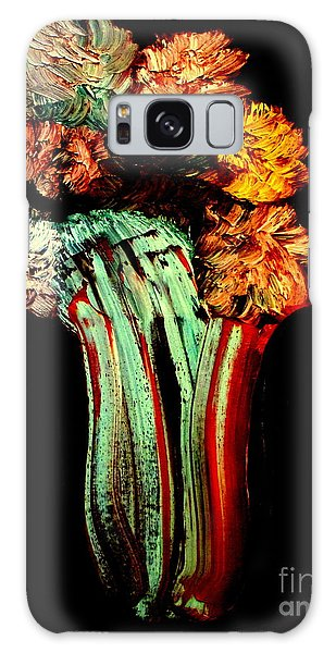 Red Vase Revisited Galaxy Case