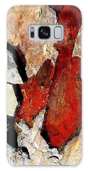 Red Veins Galaxy Case