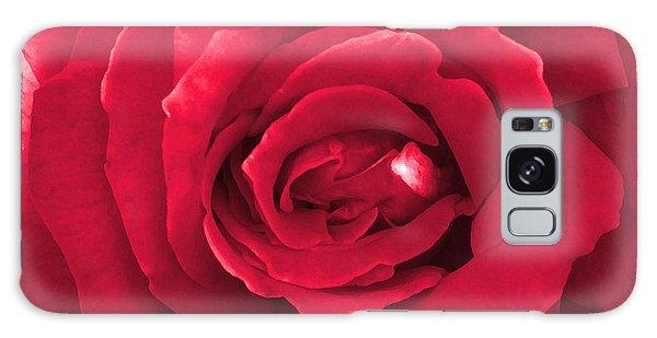 Red Velvet Rose Galaxy Case