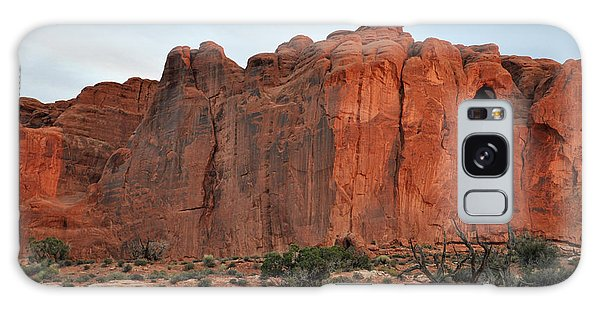 Red Wall In Arches National Park Galaxy Case