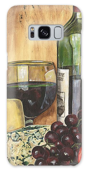 Antique Galaxy Case - Red Wine And Cheese by Debbie DeWitt