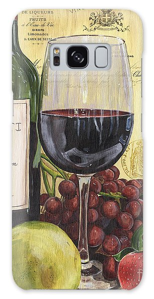 Strawberry Galaxy Case - Red Wine And Pear by Debbie DeWitt