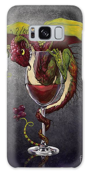 Red Wine Dragon Galaxy Case