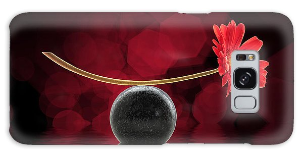 Red Zen Gerbera Galaxy Case