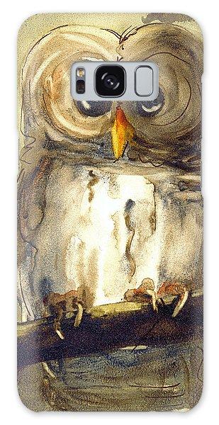 Redbird Cottage Owl Galaxy Case