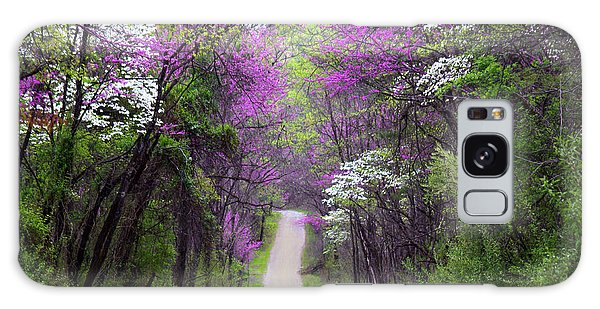 Redbuds In Bloom Galaxy Case by Annlynn Ward