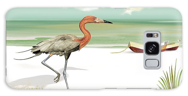 Reddish Egret Galaxy Case