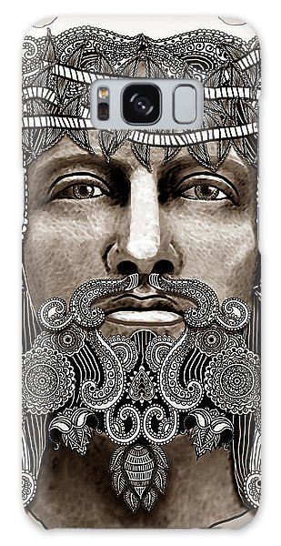 Redeemer - Modern Jesus Iconography - Copyrighted Galaxy Case