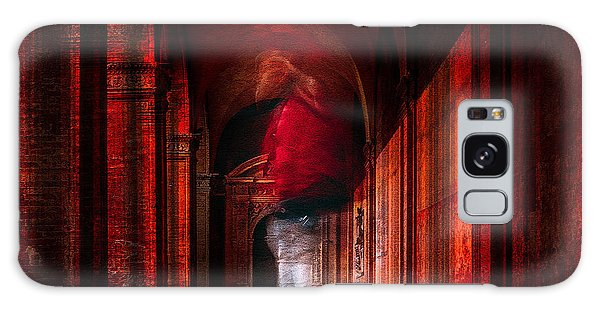 Hallway Galaxy Case - Redfluid by Carmine Chiriac??