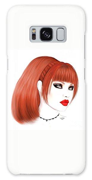 Luxmaris Galaxy Case - Redhead Cassia by Renate Janssen
