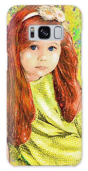 Redhead Galaxy Case by Jane Schnetlage