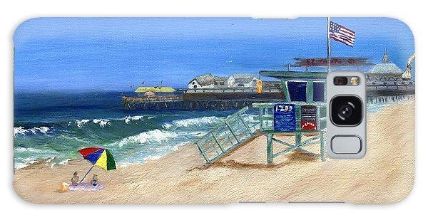Redondo Beach Lifeguard  Galaxy Case