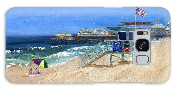 Redondo Beach Lifeguard  Galaxy Case by Jamie Frier