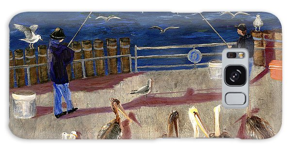 Redondo Beach Pelicans Galaxy Case by Jamie Frier