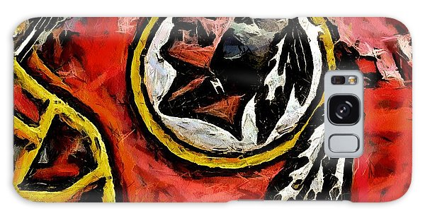 Redskins  Galaxy Case by Carrie OBrien Sibley