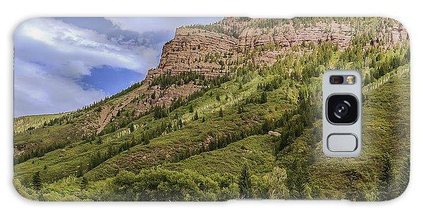 Redstone Cliffs At Redstone Colorado Galaxy Case by Karen Stephenson
