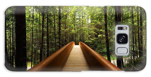 Shrub Galaxy Case - Redwood Bridge by Chad Dutson