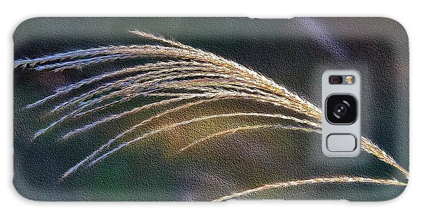 Reed Grass Galaxy Case by Ludwig Keck