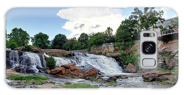 Reedy River Falls Galaxy Case