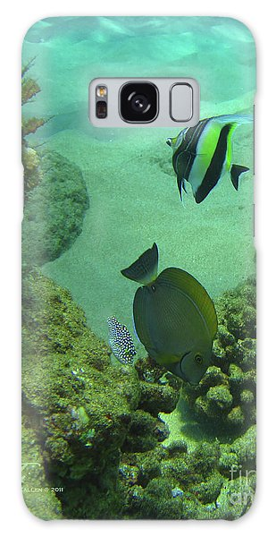 Reef Life Galaxy Case by Suzette Kallen