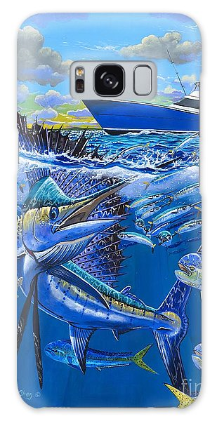 Reef Sail Off00151 Galaxy Case by Carey Chen