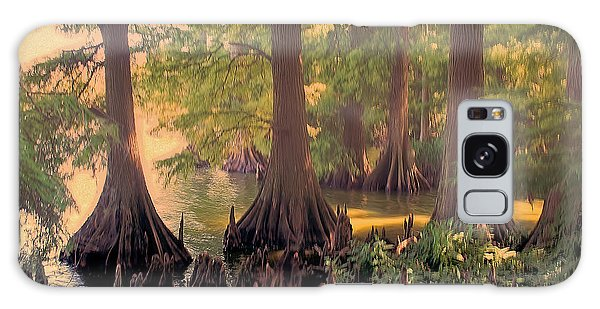Reelfoot Lake At Sunset Galaxy Case