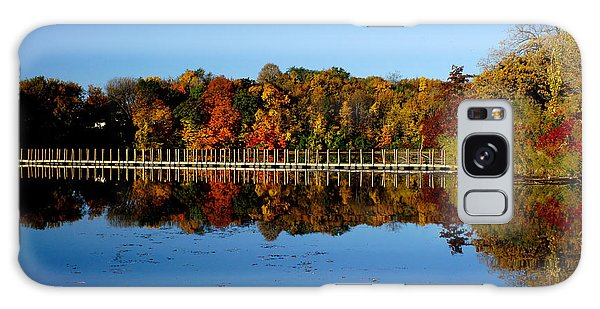 Refection Fall In Prior Lake Mn Galaxy Case